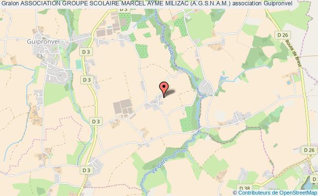 plan association Association Groupe Scolaire Marcel Ayme Milizac (a.g.s.n.a.m.)