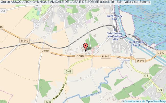 plan association Association Gymnique Amicale De La Baie De Somme