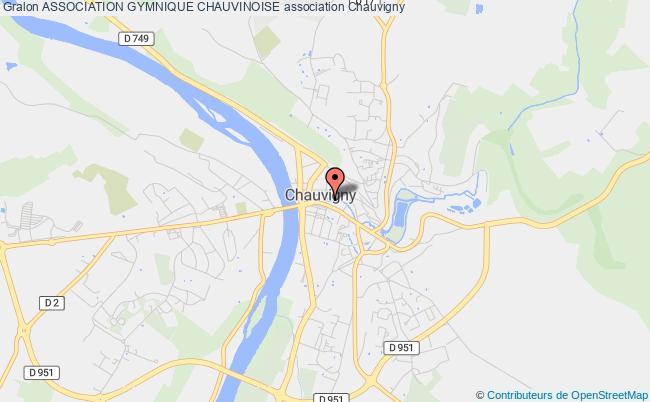 plan association Association Gymnique Chauvinoise