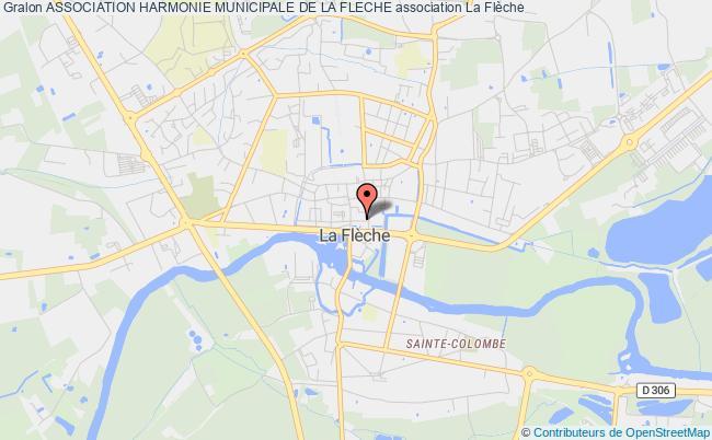 plan association Association Harmonie Municipale De La Fleche La    Flèche