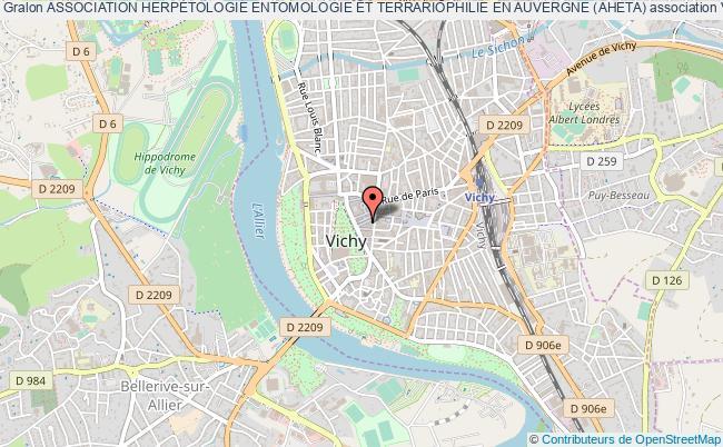 plan association Association HerpÉtologie Entomologie Et Terrariophilie En Auvergne (aheta)