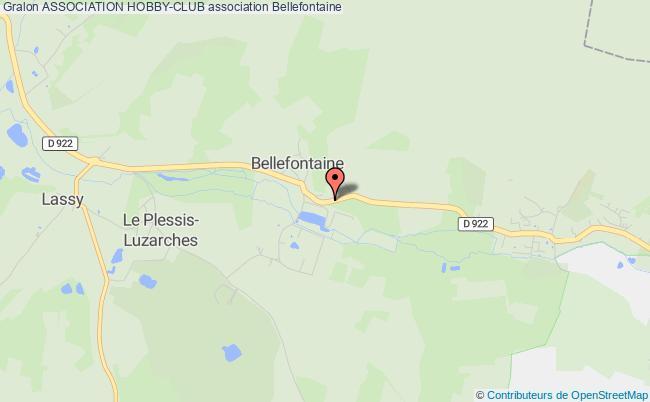 plan association Association Hobby-club Bellefontaine