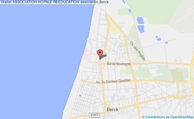 plan association Association Hopale Reeducation Berck