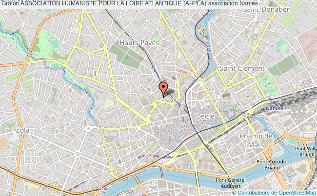 plan association Association Humaniste Pour La Loire Atlantique (ahpla)