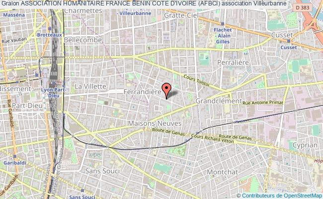plan association Association Humanitaire France Benin Cote D'ivoire (afbci)