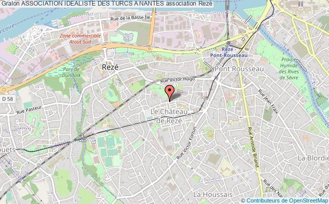 plan association Association Idealiste Des Turcs A Nantes