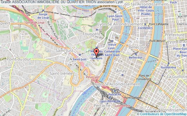 plan association Association Immobiliere Du Quartier Trion