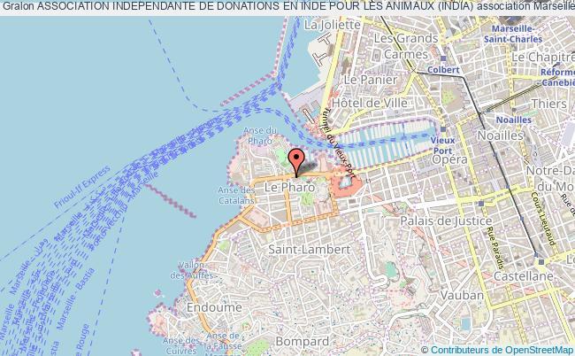 plan association Association Independante De Donations En Inde Pour Les Animaux (india)