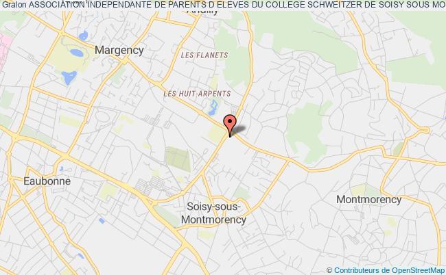 plan association Association Independante De Parents D Eleves Du College Schweitzer De Soisy Sous Montmorency