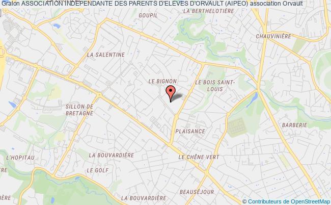 plan association Association Independante Des Parents D'eleves D'orvault (aipeo)