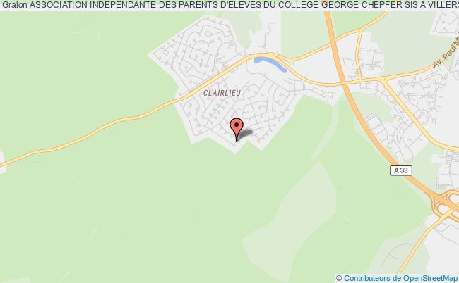 plan association Association Independante Des Parents D'eleves Du College George Chepfer Sis A Villers Les Nancy