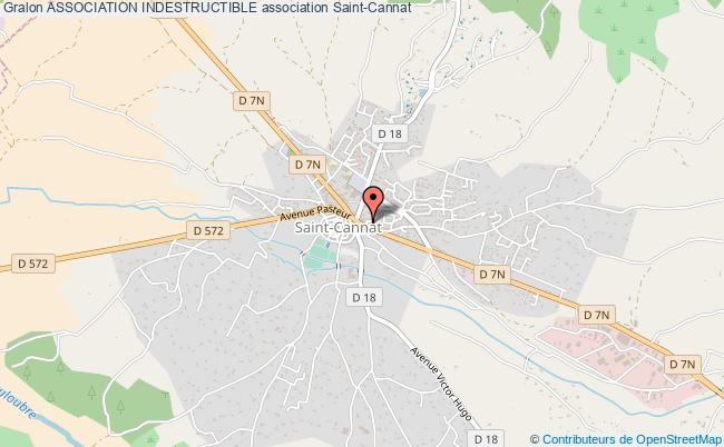 plan association Association Indestructible Saint-Cannat