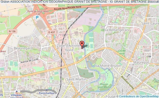 plan association Association Indication Geographique Granit De Bretagne - Ig Granit De Bretagne