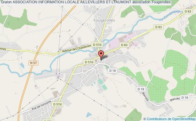 plan association Association Information Locale Aillevillers Et Lyaumont