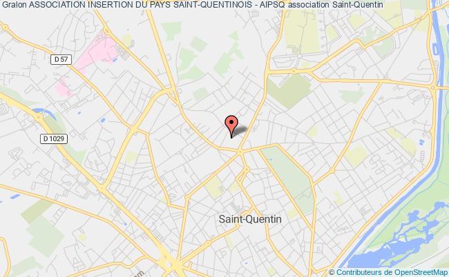 plan association Association Insertion Du Pays Saint-quentinois - Aipsq