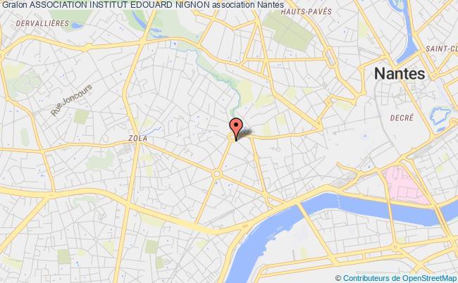 plan association Association Institut Edouard Nignon