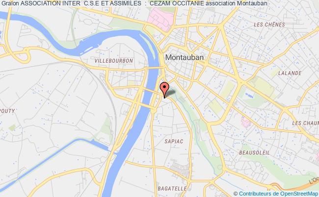 Carte Cezam Montauban.Association Inter Comites D Entreprise De Tarn Et Garonne