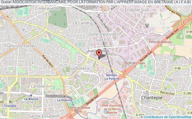 plan association Association Interbancaire Pour La Formation Par L'apprentissage En Bretagne (a.i.f.a.b)