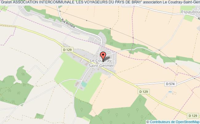 plan association Association Intercommunale 'les Voyageurs Du Pays De Bray'