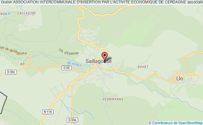 plan association Association Intercommunale D'insertion Par L'activite Economique De Cerdagne Saillagouse