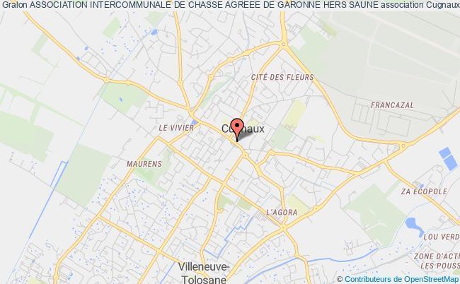 plan association Association Intercommunale De Chasse Agreee De La Garonne Hers Saune