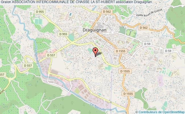 plan association Association Intercommunale De Chasse La St-hubert Draguignan