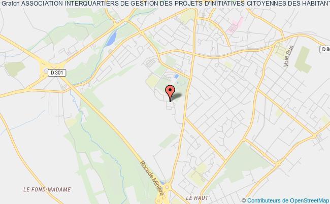 plan association Association Intercommunale De Gestion Des Projets D'initiative Citoyenne Des Habitants Des Communes De Bruay-la-buissiere Et Houdain