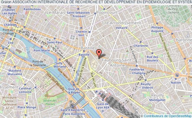 plan association Association Internationale De Recherche Et DÉveloppement En ÉpidÉmiologie Et SystÈmes D'information Pour La SantÉ (episodds) Paris 12e