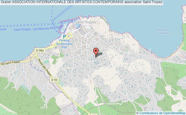plan association Association Internationale Des Artistes Contemporains