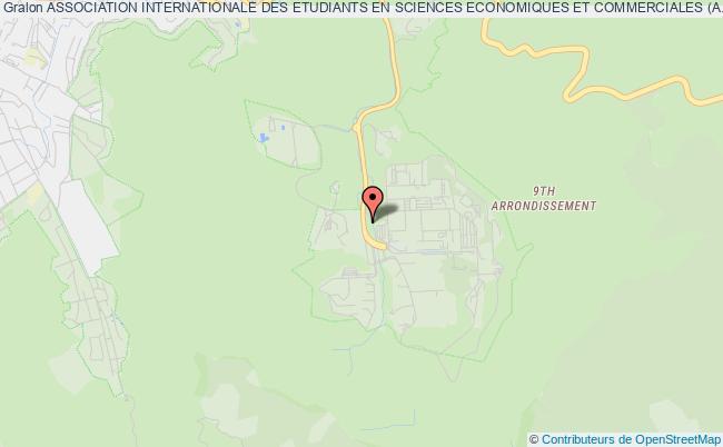 plan association Association Internationale Des Etudiants En Sciences Economiques Et Commerciales (a.i.e.s.e.c) Marseille Marseille