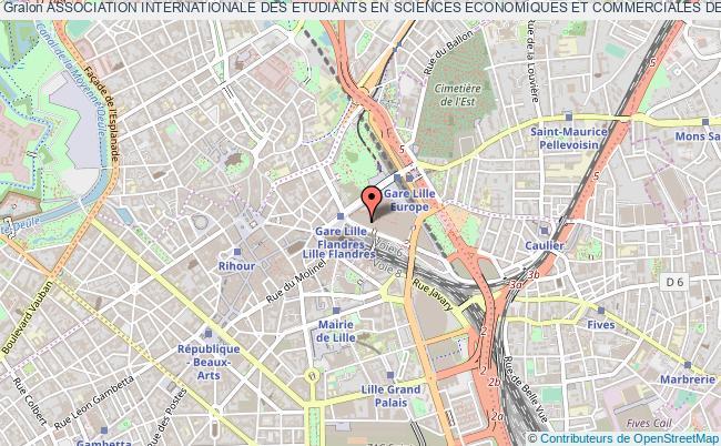 plan association Association Internationale Des Etudiants En Sciences Economiques Et Commerciales De Lille (aiesec Lille) EURALILLE
