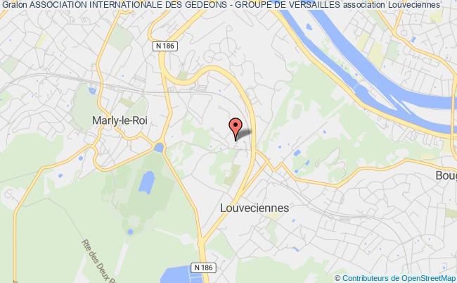 plan association Association Internationale Des Gedeons - Groupe De Versailles Louveciennes
