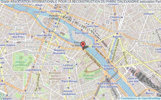 plan association Association Internationale Pour La Reconstruction Du Phare D'alexandrie