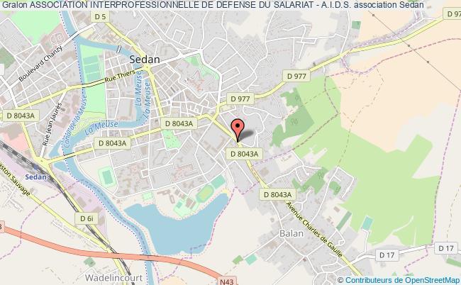 plan association Association Interprofessionnelle De Defense Du Salariat - A.i.d.s.