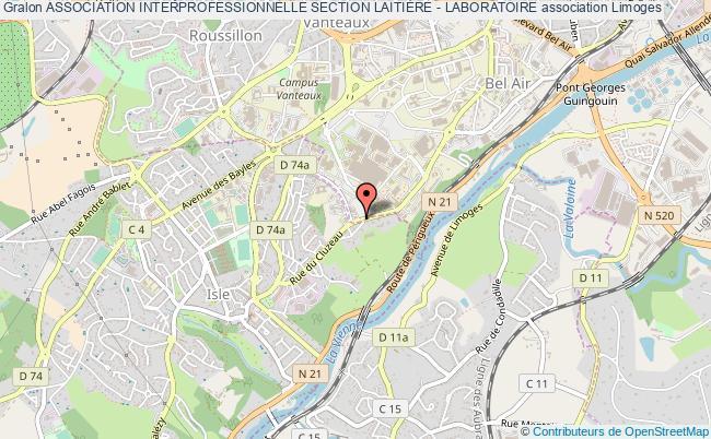 plan association Association Interprofessionnelle Section LaitiÈre - Laboratoire