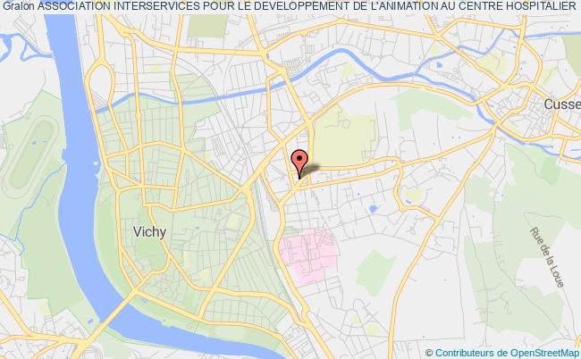 plan association Association Interservices Pour Le Developpement De L'animation Au Centre Hospitalier De Vichy (aida-chv)
