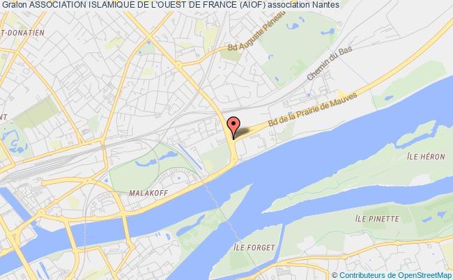 plan association Association Islamique De L'ouest De France (aiof)