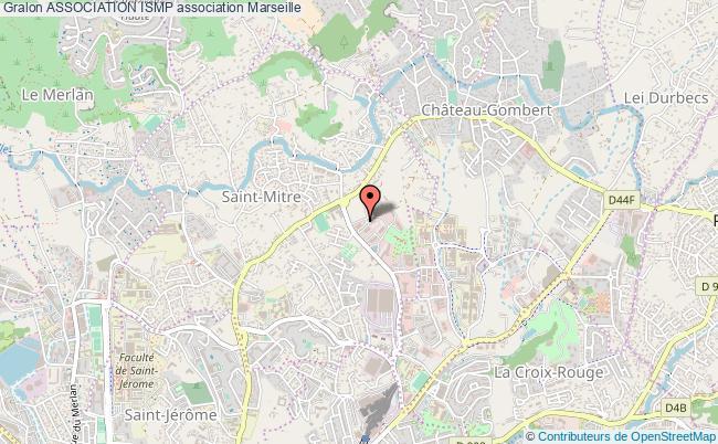 plan association Association Ismp Marseille