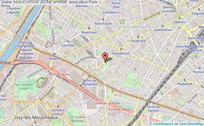 plan association Association Jeune'xprime Paris