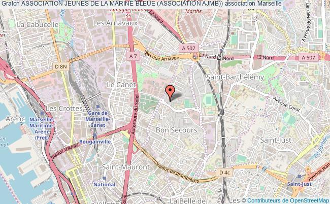 plan association Association Jeunes De La Marine Bleue (association Ajmb))
