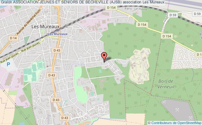 plan association Association Jeunes Et Seniors De Becheville (ajsb) Mureaux