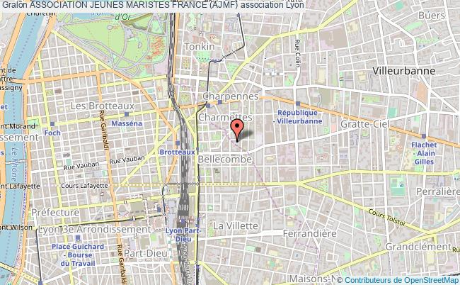 plan association Association Jeunes Maristes France (ajmf)