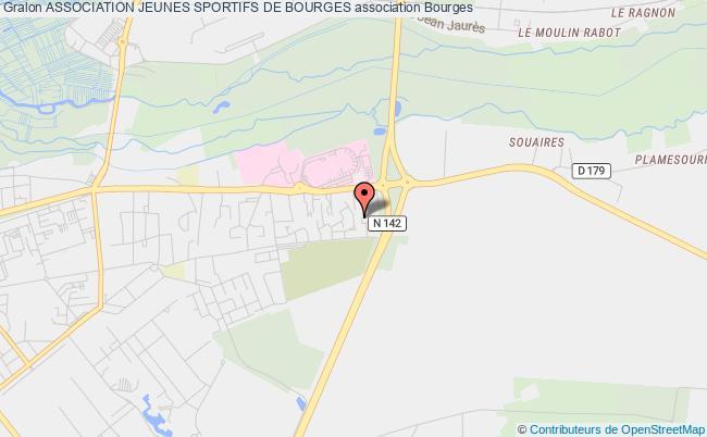 plan association Association Jeunes Sportifs De Bourges Bourges