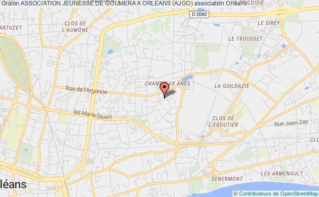 plan association Association Jeunesse De Goumera A Orleans (ajgo)