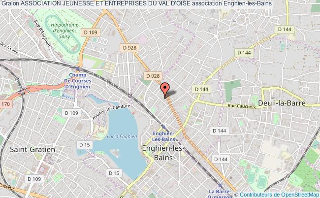 plan association Association Jeunesse Et Entreprises Du Val D'oise
