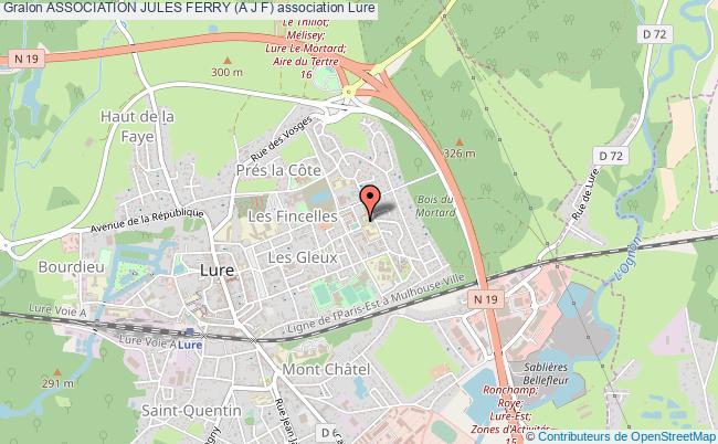 plan association Association Jules Ferry (a J F)