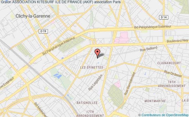 plan association Association Kitesurf Ile De France (akif)