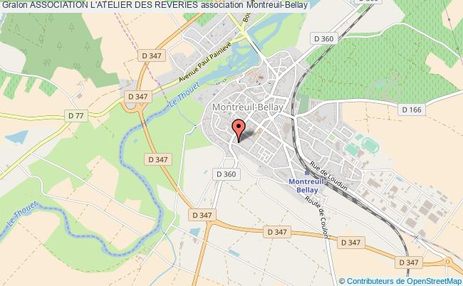 plan association Association L'atelier Des Reveries Montreuil-Bellay