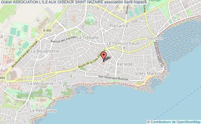 plan association Association L'ile Aux Oiseaux Saint Nazaire