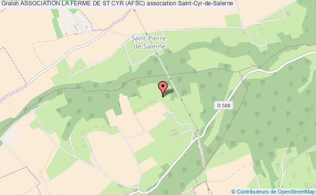plan association Association La Ferme De St Cyr (afsc)
